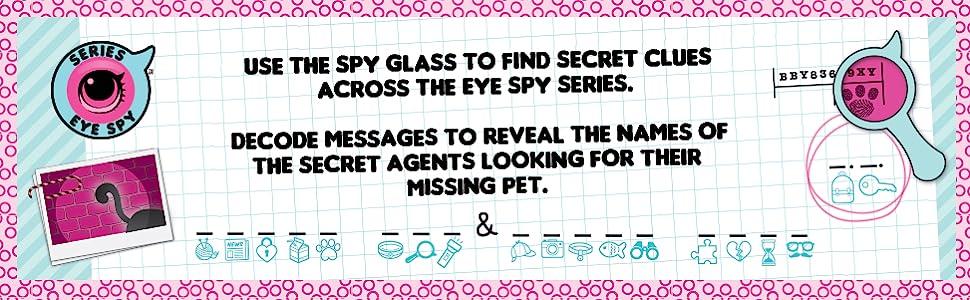 LOL Surprise Under Wraps Doll- Series Eye Spy 1A