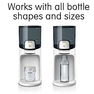 Universal Bottle Warmer, work with plastic, glass, tall, short bottles