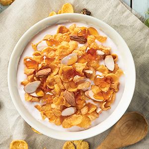 almond,honey,cornflakes,corn flakes