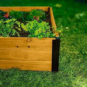 Wooden garden bed FSC