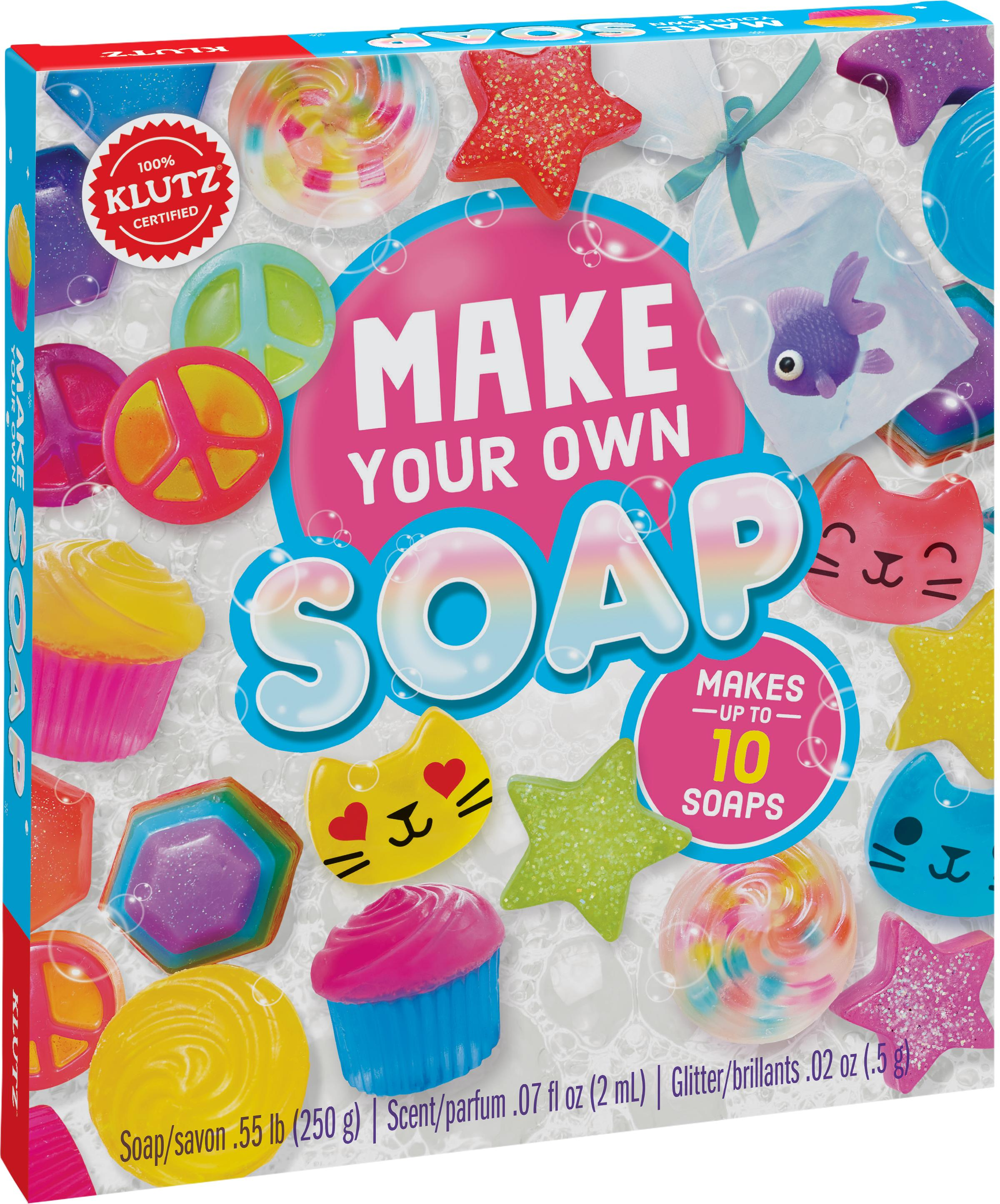 Amazon Com Klutz Make Your Own Soap Craft Science Kit Editors Of