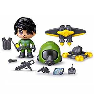 Pinypon Action - Jet Pack, 1 Figurita con Accesorios, Multicolor ...