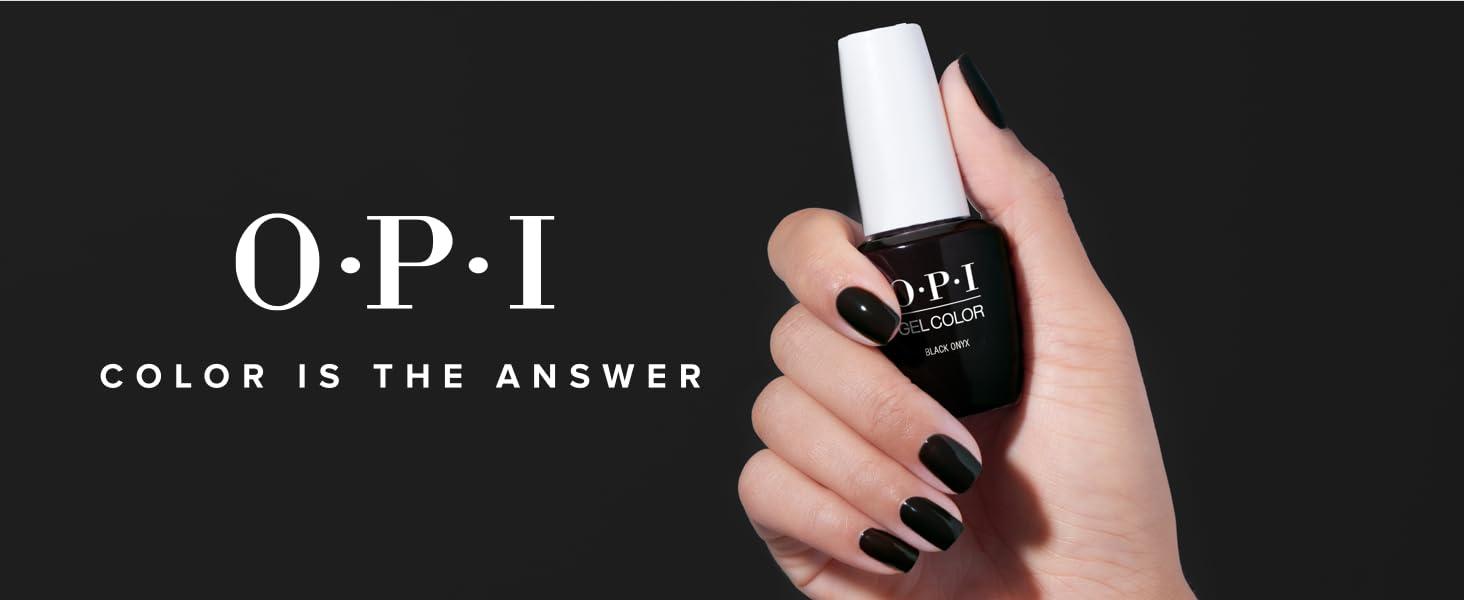 opi gel polish gel nail polish black shellac
