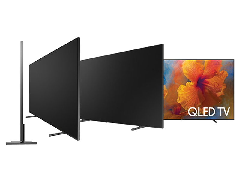 samsung electronics qn65q9 65 inch 4k ultra hd smart qled tv 2017 model electronics. Black Bedroom Furniture Sets. Home Design Ideas