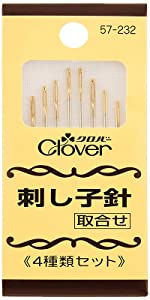 Clover 刺し子針