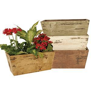 planter;planters;distressed planter;copper planter;rustic planter;home and garden;garden planters