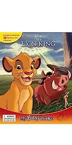 My Busy Books PawPatrol Phidal Board Books Lion King