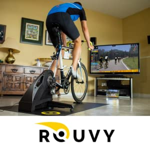 Rouvy indoor training virtual ride smart trainer CycleOps