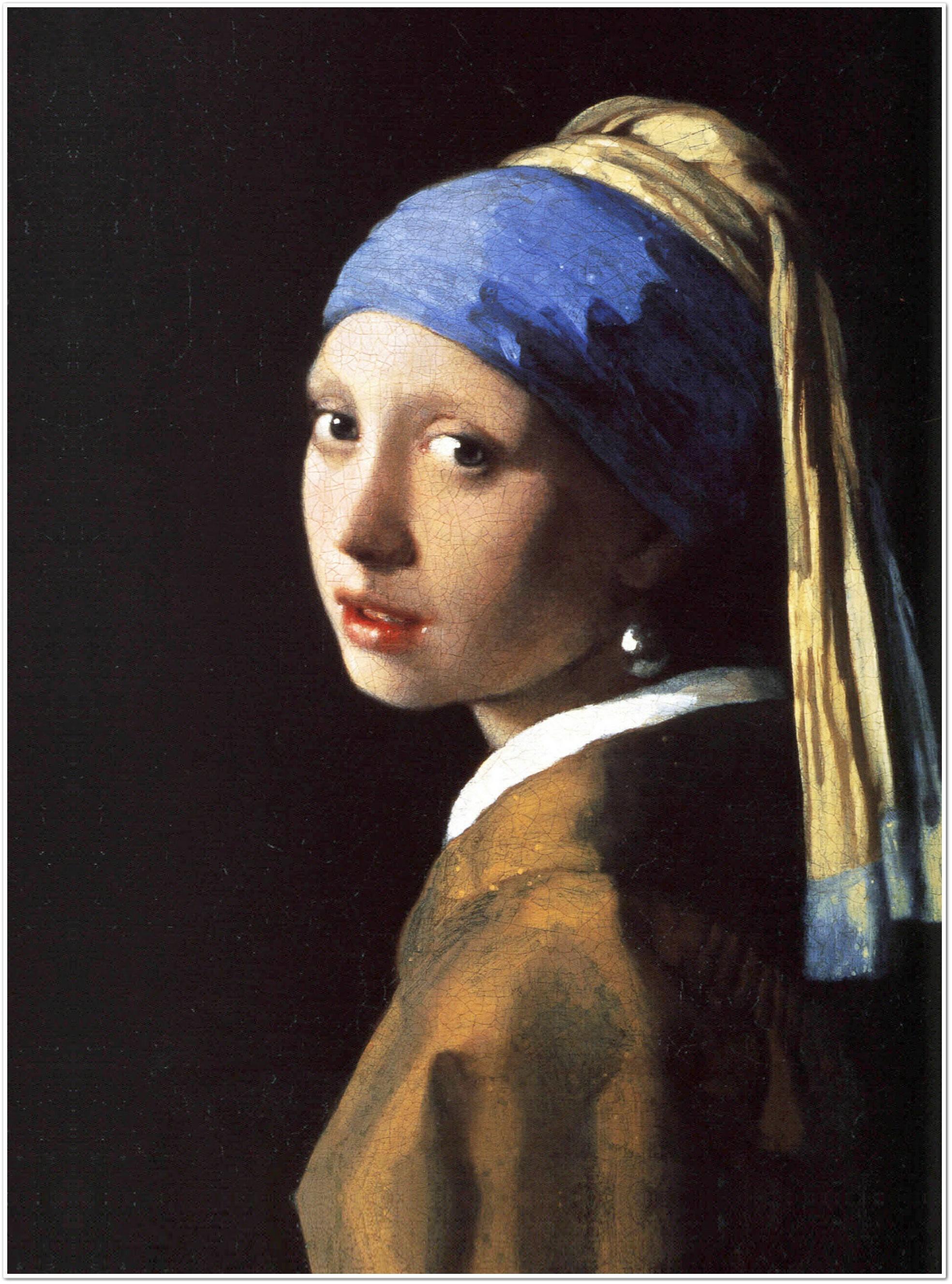 legendarte p 091 quadro di jan vermeer la ragazza con l