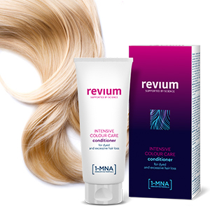 REVIUM INTENSIVE REPAIR COLOUR CARE CONDITIONER WITH 1-MNA MOLECULE, FOR WEAK EXCESSIVELY FALLING OUT HAIR 200 ml