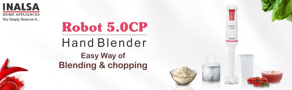 inalsa , home appliances, robot 5.0 cp , hand blender