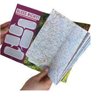 MARCO POLO Faltkarte, Reiseführer, Urlaub planen,