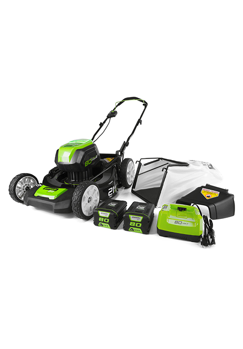 Greenworks 20-Inch 40V Brushless Cordless Lawn Mower, Battery Not Included MO40L00