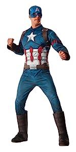 Adult Captain America Costume