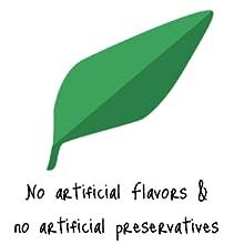 no artificial;flavors;preservatives