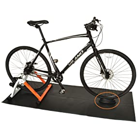 Rehomy Bicycle Front Wheel Riser Bike Training Stand Cycling Block for Indoor Cycling Training