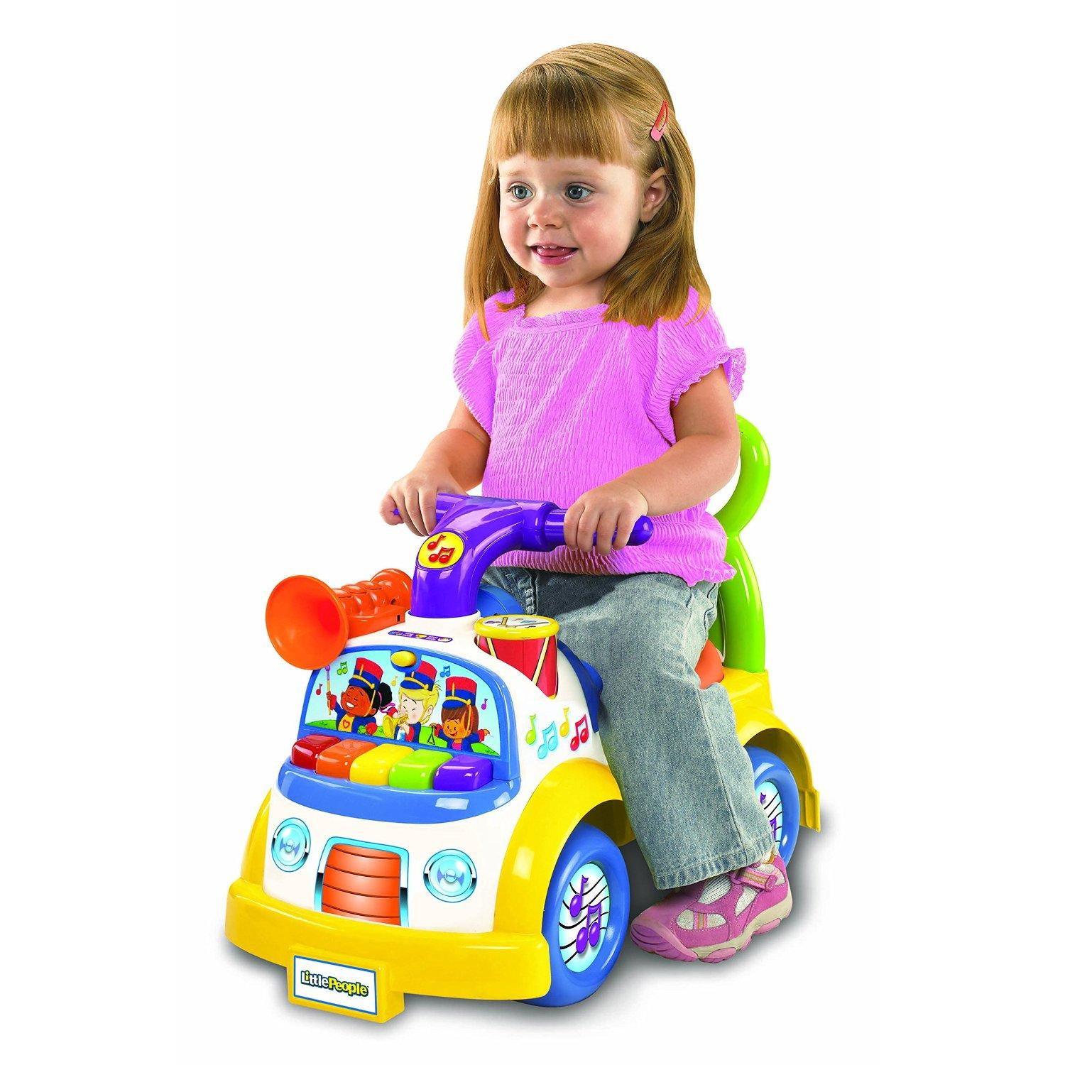 Fisher Price Little People Music Parade Ride on Amazon Toys