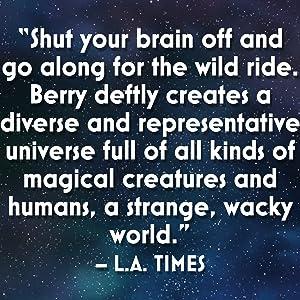Space Unicorn Blues, LA Times, Book review space opera