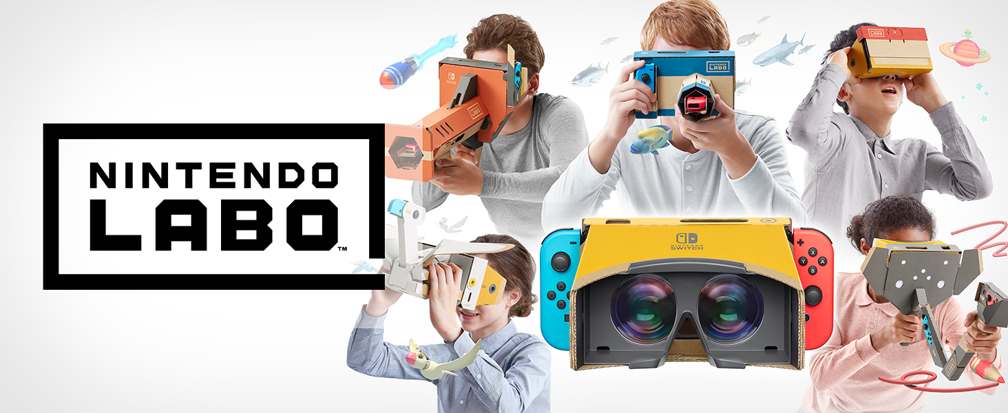 Nintendo labo Toy-Con 04: VR Kit Title