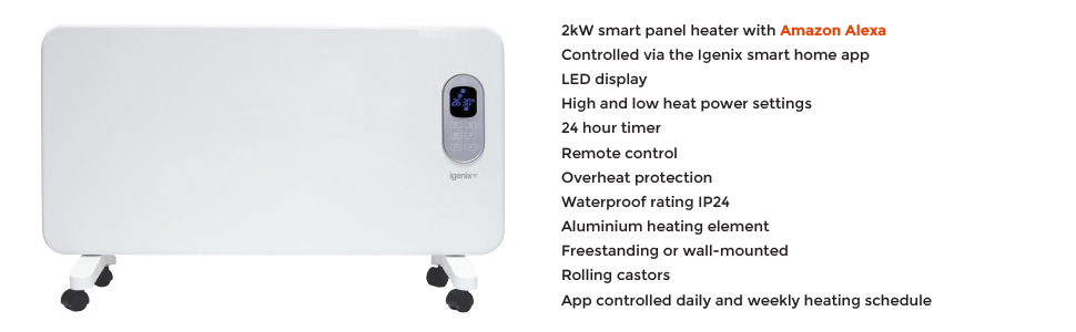 IG9520WIFI Smart Electric Panel Heater