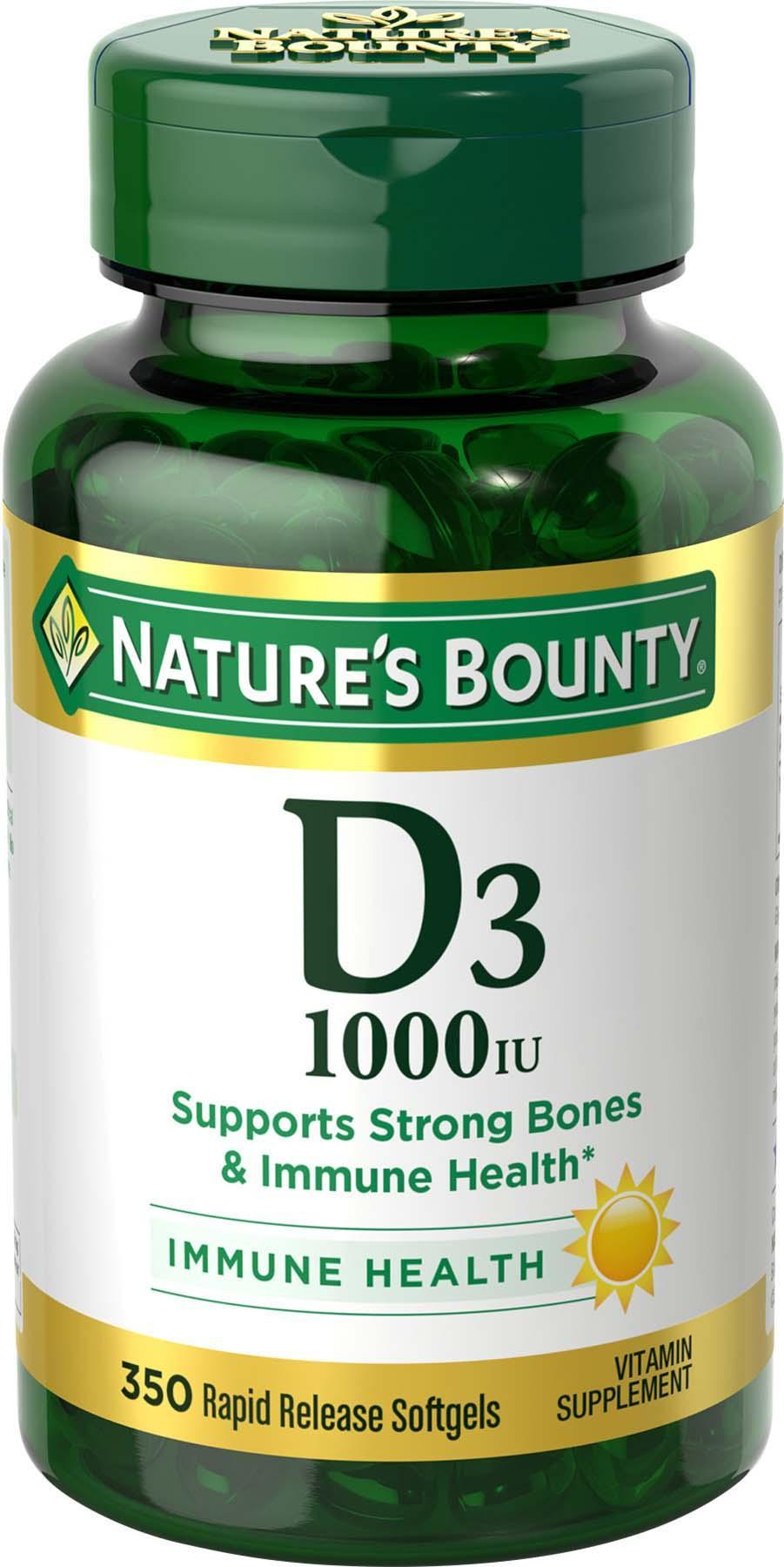 nature 39 s bounty vitamin d3 2000 iu softgels. Black Bedroom Furniture Sets. Home Design Ideas