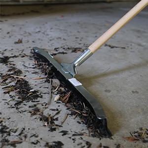 Floor Squeegee Cleaning