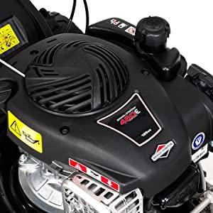 NAX POWER PRODUCTS 1000S motor Briggs & Stratton serie 450E 125 cm3 ancho de corte 42 cm cesta 45l