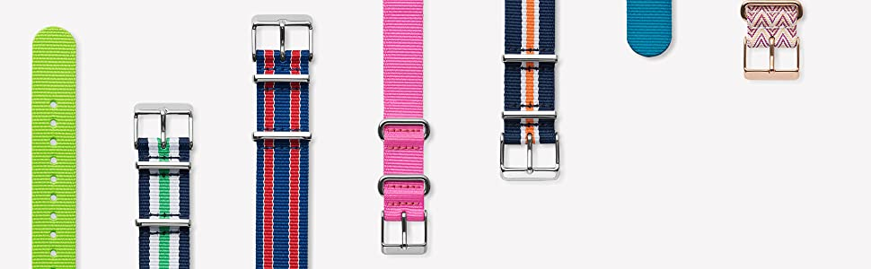 Timex Nylon Fabric Straps