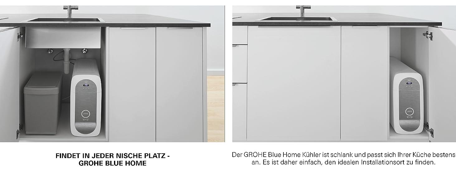 GROHE Blue Home   Küche - Spültischarmatur mit FILTERFUNKTION und ...
