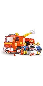 Pompiere, Sam, Fireman Sam, FMS, Pontypandy, auto dei vigili del fuoco, Jupiter, luce blu