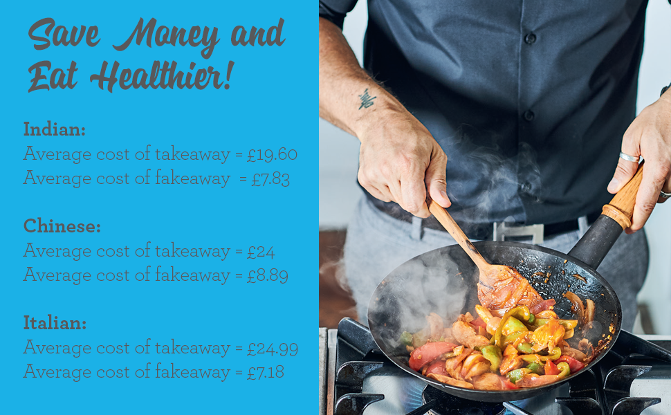 Dale Pinnock Fakeaways Healthy Budget Friendly Takeaways