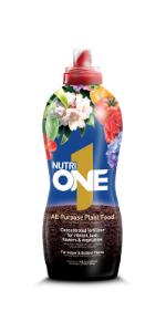 nutrione, nutri1, nutri one, all purpose plant food, fertilizer, concentrate, liquid