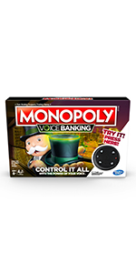 monopoly, voice banking, monopoly voice banking, board game