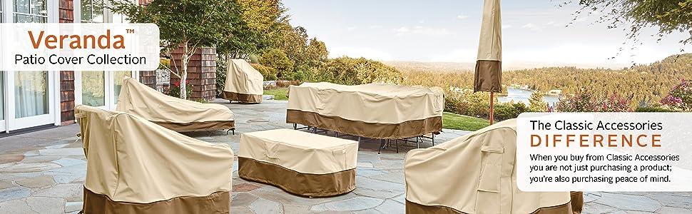 Veranda Patio Rectangular/Oval Table Cover