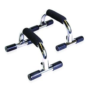 chrome push up bars, push up bars