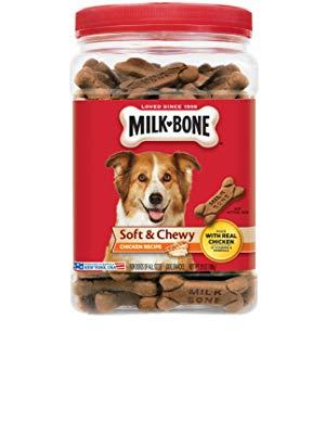 Milk-Bone Soft & Chewy Chicken Recipe Dog Treats