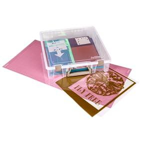 super satchel, craft box, craft storage, plastic container, 6955AB