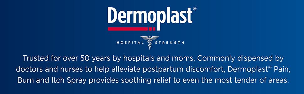 Dermoplast pain itch spray hospital trusted