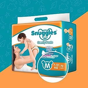 Snuggles Standard Medium Size Diaper Comfy Pants