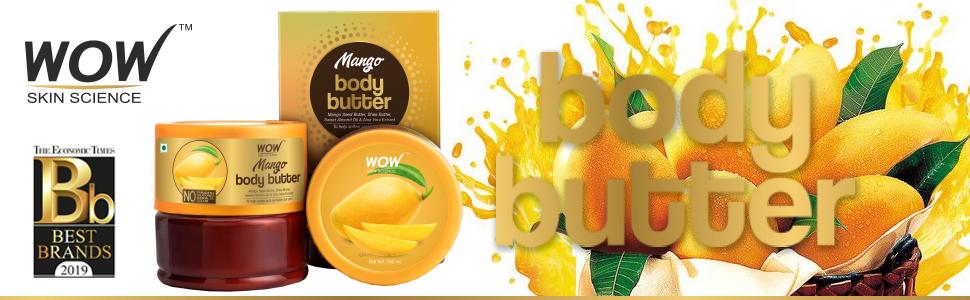 WOW Skin Science Mango Body Butter