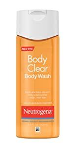 Neutrogena Oil-Free Acne Wash Body Clear Body Wash