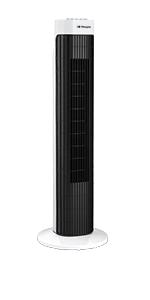 Orbegozo TW 0750 – Ventilador de torre con temporizador, 3 velocidades de ventilación, movimiento oscilante y 45 W ...