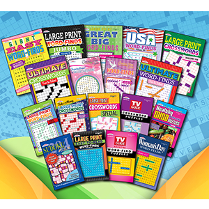 Puzzle Books Word Search Crosswords Sudoku