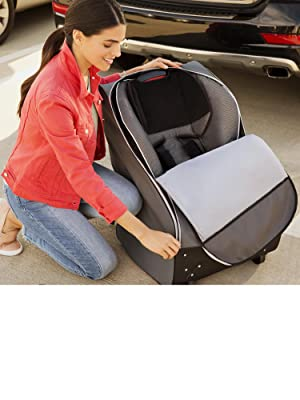 Amazon Brica Cover Guard Car Seat Travel Bag Baby