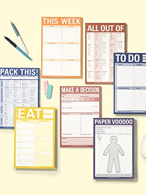 Knock Knock Classic Pads List Notepads