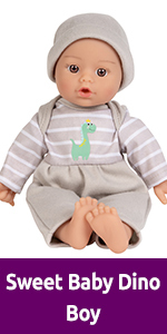 adora baby dolls sweet baby 11 inch soft baby doll for 1 year olds toddler infants washable toy