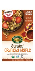 Sunrise Crunchy Maple