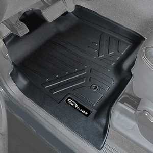 changlaiwang Car Floor Mats for Dodge Grand Caravan 2009-2019 Can be Customized for 99/% of Cars Beige Full Set