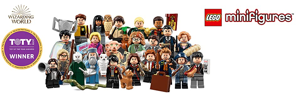 FIGURINE MINIFIGURE LEGO HARRY POTTER 71022 N° 8 DEAN THOMAS MINIFIGURINE