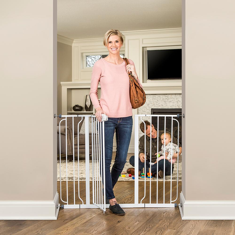Regalo Baby 1154 Extra Tall Widespan Gate White Amazon Ca Baby